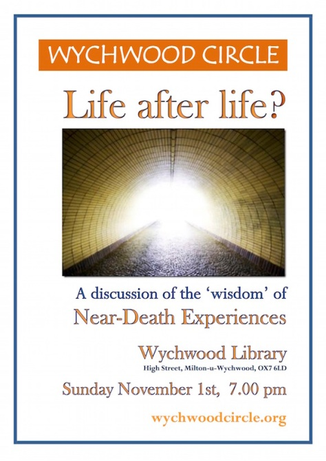 Wychwood Circle Nov 1st 2015 - Life after Life copy