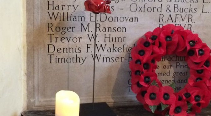 We shall remember…