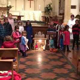 Enstone Crib and Christingle Service