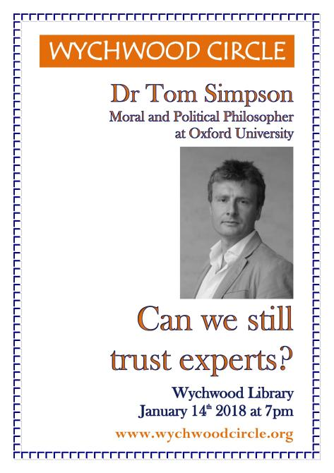 Jan 2018 Tom Simpson on Trust as pic