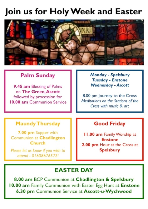 2019 Holy Week and Easter A4