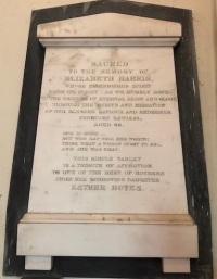 harris memorial