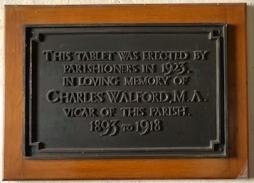walford memorial
