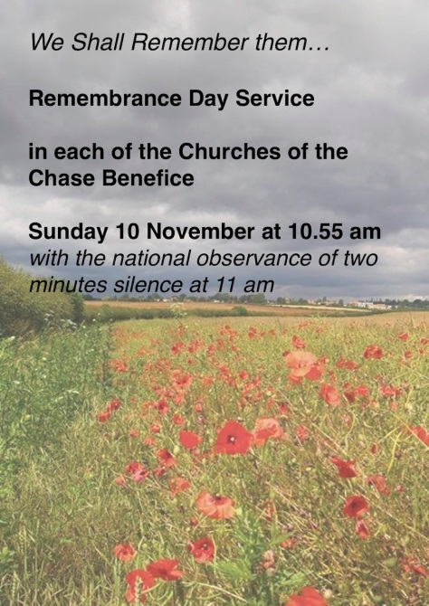 2019 Remembrance poster