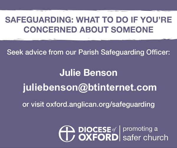 Safeguarding - julie's email