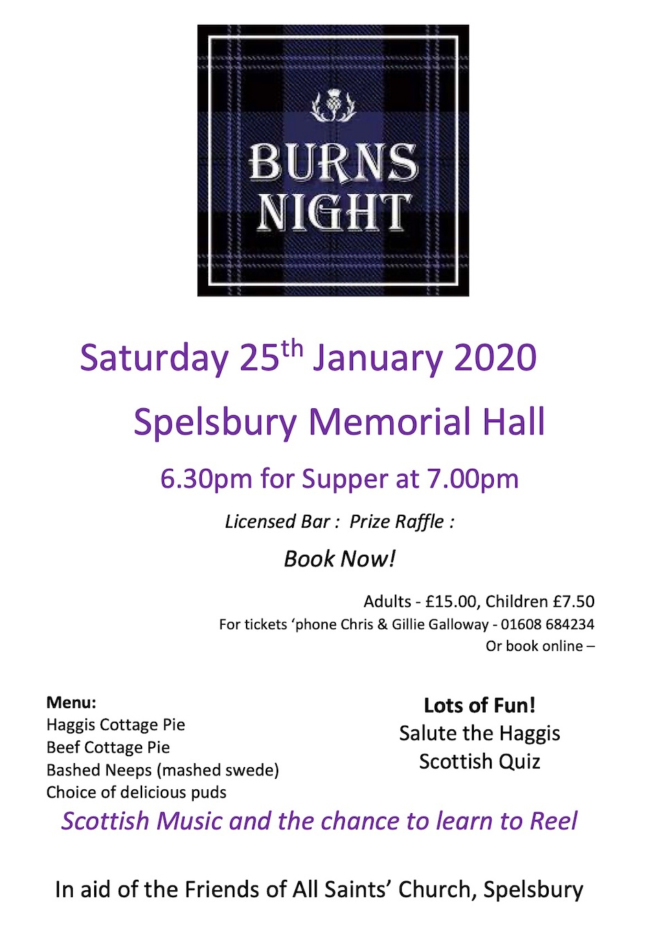 Burns Night 2020